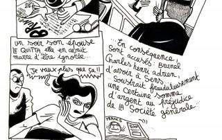 Auxerre - 24 heures de la BD : Fred Blin - Planche N°2